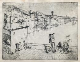 Vadász Endre - Aranypart Firenzében
