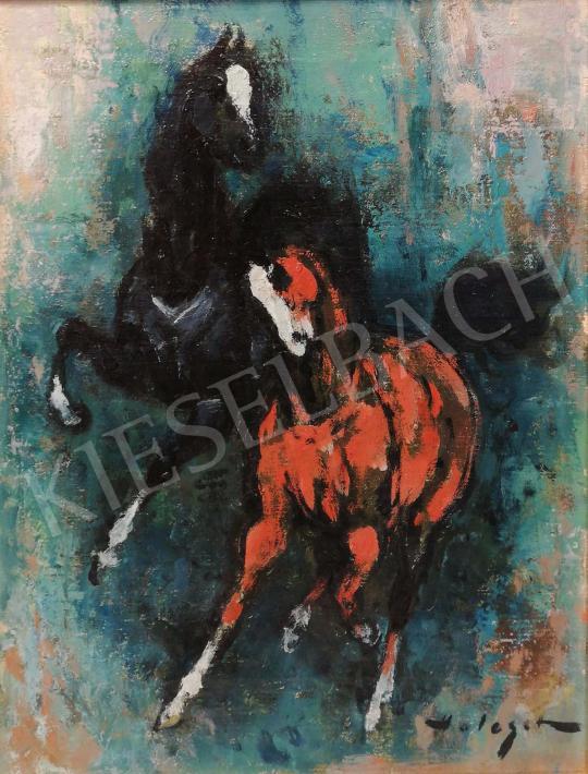Holesch, Dénes (Denes de Holesch) - Horses painting