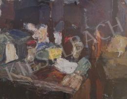 Gruber Béla - Műtermi csendélet III., 1962