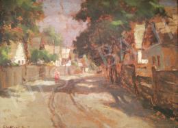 Rákosi Uitz János - Village Street