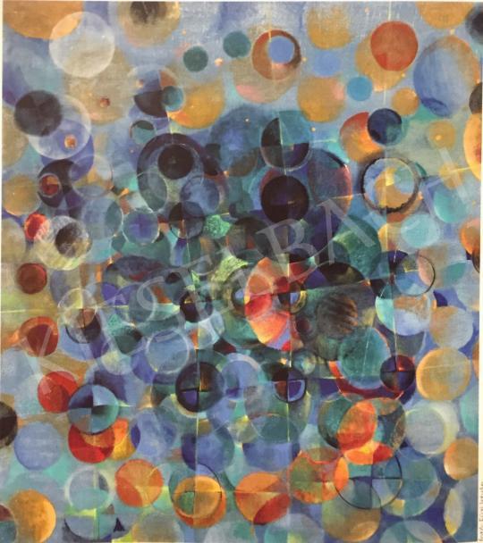 Gyarmathy Tihamér - Bemérve a mérhetetlen, 1979 festménye