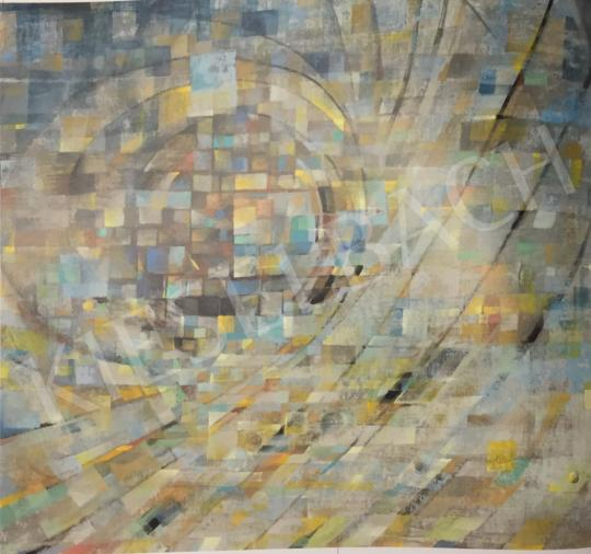Gyarmathy, Tihamér - Moving Away, 1980 painting