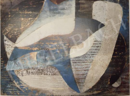 Gyarmathy, Tihamér - Composition I., 1945 painting