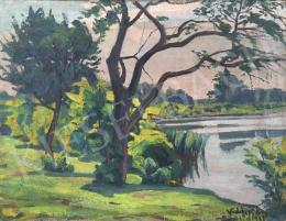 Widder Félix - Dunapart, 1932