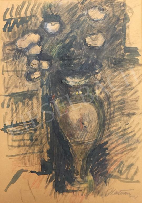 Eladó Hatvany Ferenc - Virágcsendélet festménye