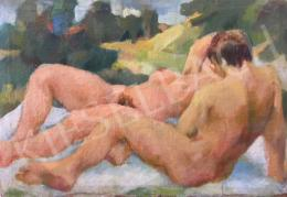Unknown painter - Nudes in the Open