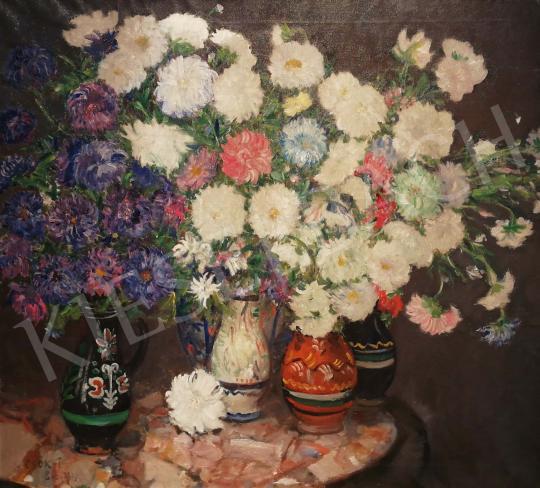 Eladó  Csók István - Nagy virágcsendélet, 1917 festménye