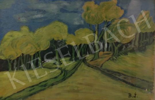 Eladó  Balázs János - Hármas út, Fák festménye