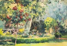 Neogrády Antal - Tavaszi virágoskert