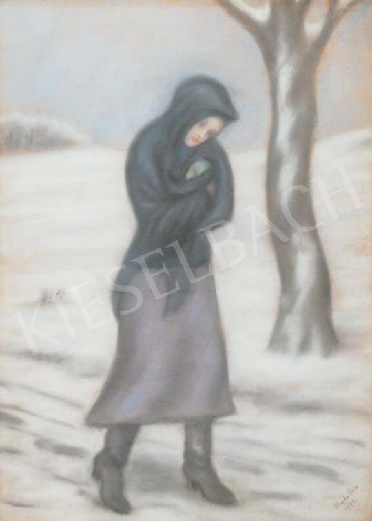 Hajdú Béla - Tél festménye
