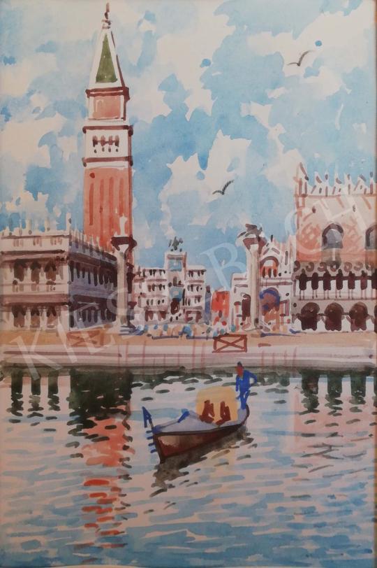 Tatár János - Velence festménye