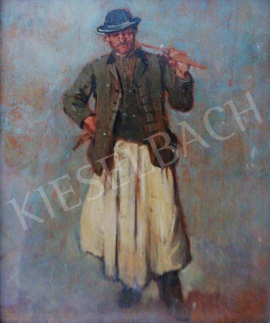 Eladó Deák-Ébner Lajos - Csikós festménye