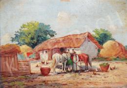 Németh, György - Village Scene