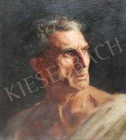 Ismeretlen művész Kató jelzéssel - Férfi portré