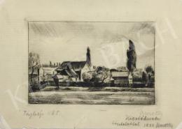 Kmetty János - Tájkép, 1922