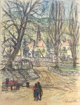 Hikádi Erzsébet - Parkban