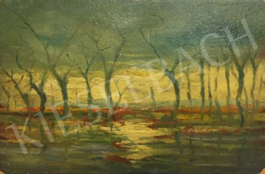 For sale Unknown artist - Holm with Trees 's painting