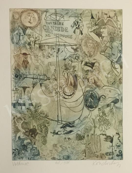 Eladó Kondor Lajos - Voltaire  festménye