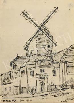Szepes Béla - Montmarte, 1959
