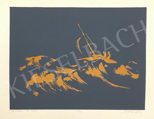 For sale  Unknown Artist with Unreadable Signature - Jó széllel, 1984 's painting