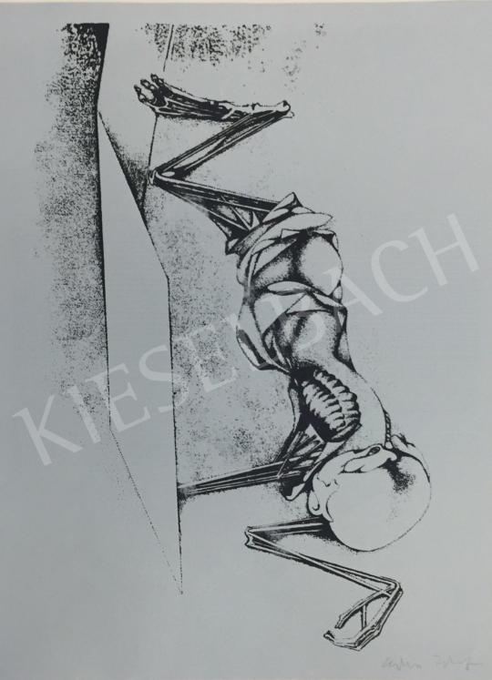 Eladó Kiss Tibor - Anatómia, 1981 festménye