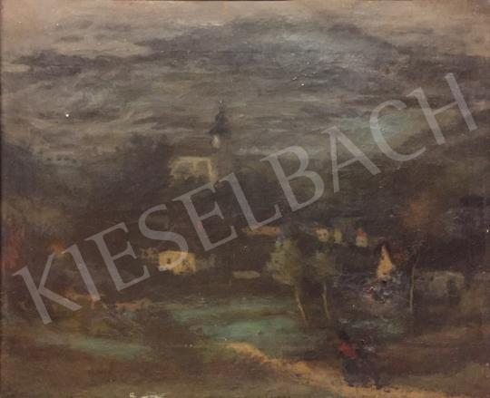 Eladó Fényes Adolf - Tájkép festménye