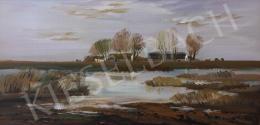 Ugocsai Antal - Vízparti látkép