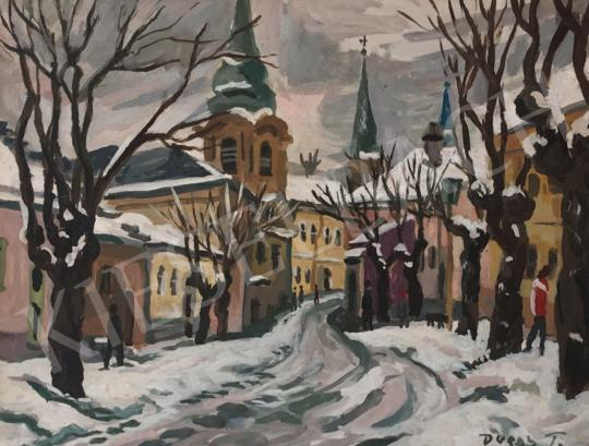 Duray, Tibor - Esztergom painting