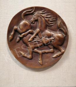 Duray, Tibor - Horses Embossed