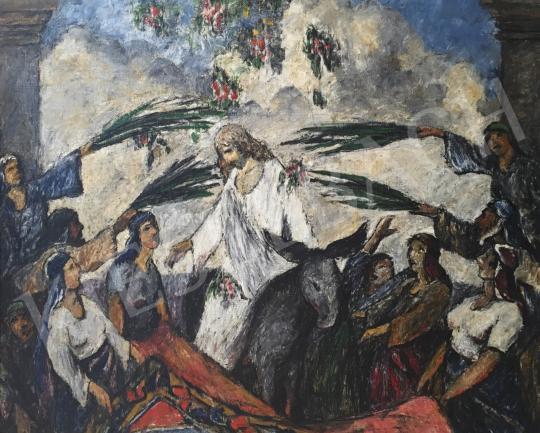 Eladó Kotász Károly - Bevonulás Jeruzsálembe festménye