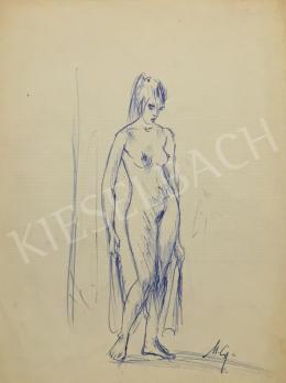 Metykó, Gyula - Standing Women Nude