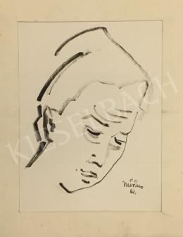 Monos József - Női fej