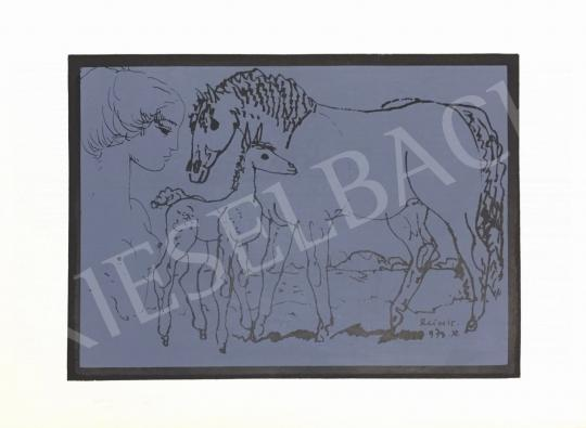 For sale Reich, Károly - Women Nude with Horse 's painting