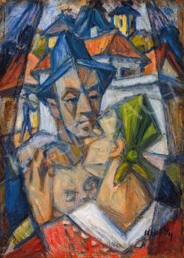 Kmetty, János - Self-Portrait from Szentendre