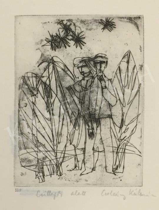 Csohány Kálmán - Csillagok alatt festménye