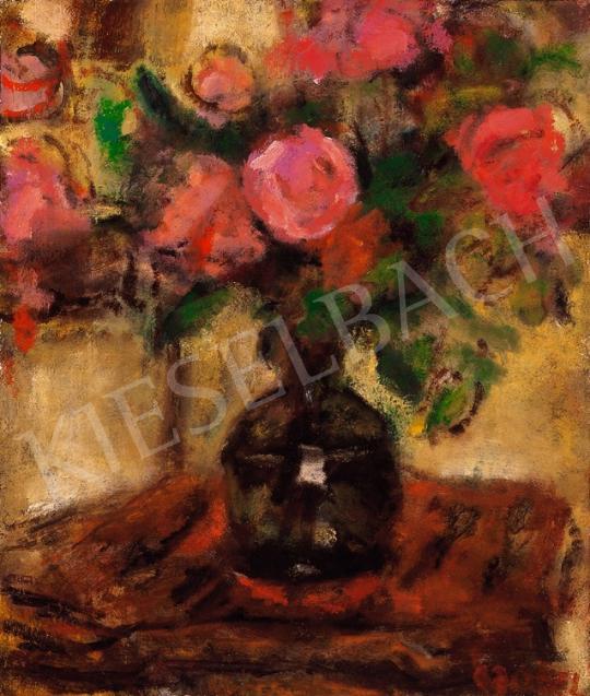 Czóbel Béla - Virágcsendélet   18. Aukció aukció / 7 tétel