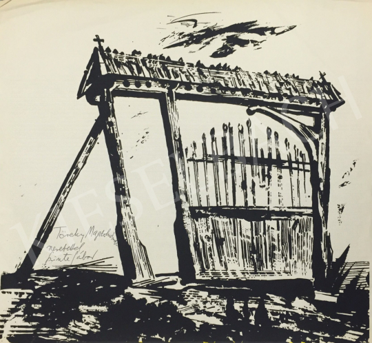 For sale  Szinte, Gábor - Székelykapu 's painting