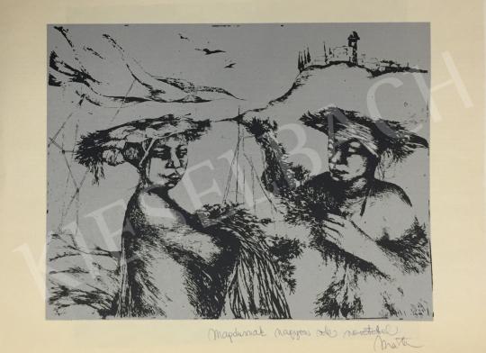 Eladó Lacza Márta, Dékányné - Dolgozó nők festménye