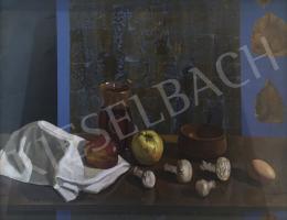 Záborszky Viola - Asztali csendélet gyümölccsel és zöldséggel