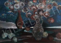 Scholz Erik - Csendélet gyümölccsel és virággal