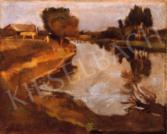 Iványi Grünwald Béla - Folyóparton | 18. Aukció aukció / 16 tétel