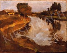 Iványi Grünwald, Béla - By the Riverside, about 1902-3
