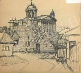 Húth István - Városi látkép