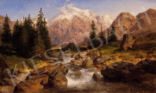 Zimmerman, Albert - Hegyi patak | 18. Aukció aukció / 25 tétel