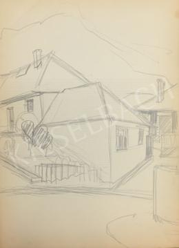 Húth István - Vázlat házról és kerítésről