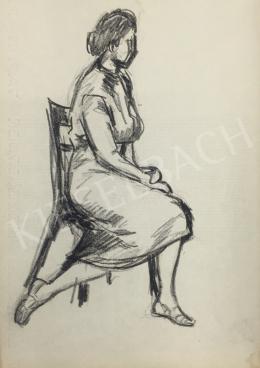 Húth István - Ülő modell