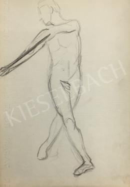 István Húth - Modeling Nude