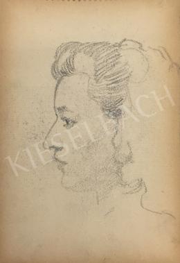 István Húth - Portrait of a Women