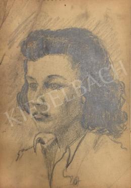 Húth István - Fiatal női portré