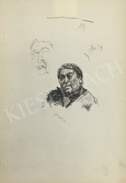 Húth István - Kettős férfi portré variáció